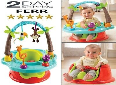 Summer Infant Activity Seat Baby Walker Toddler Chair Toy Adjustable First Sit