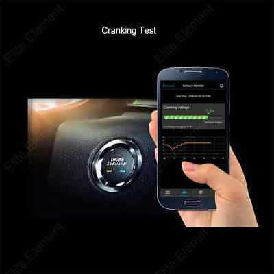 Car Auto RV Bluetooth Battery Monitor 4.0 Device 12V Battery Tester QUICKLYNKS