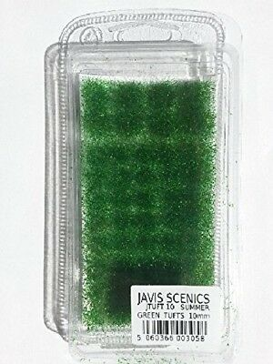 Grass Tufts – Summer Green Tufts – 10mm Javis Scenics Jtuft10. Shipping Included