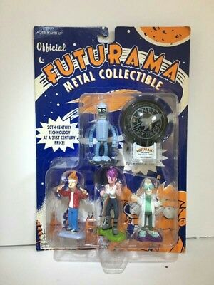Futurama Official Metal Collection Figures MOC