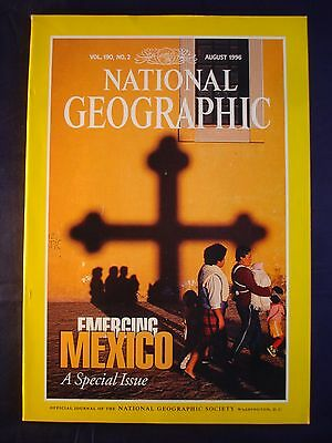 National Geographic August 1996 - Mexico