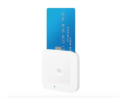 Square Contactless Credit Card Chip & Magstripe Reader, 8132303