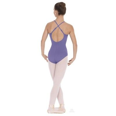 (Small, Lilac) - Eurotard 10819 Adult Cotton Adjustable Leotard. Free Shipping