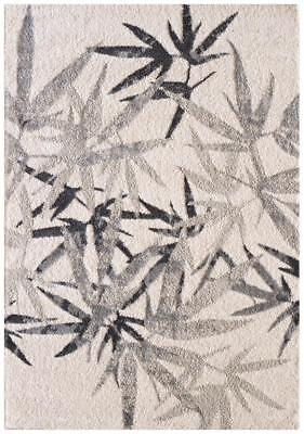 Palm Springs Natural and Grey Rug Modern Rugs Floor Carpet Home