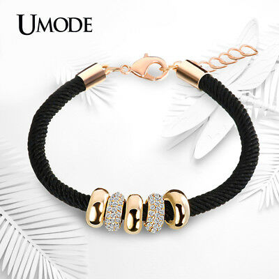 UMODE New Fashion Gold Color Jewelry Austrian Rhinestone Round Circles Pendant R