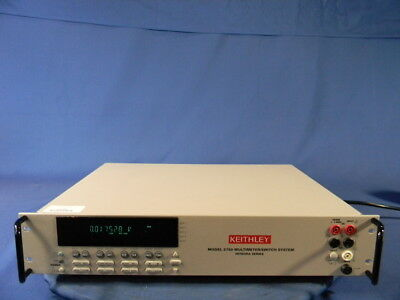 Keithley 2750 Switch Mainframe 30 Day Warranty