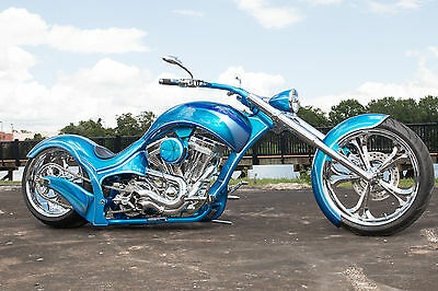 2017 Custom Built Motorcycles Chopper  Radical Model, Signature Series, Custom Harley, factory title, NADA listed
