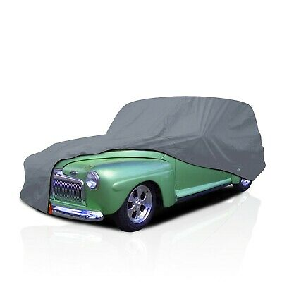[CSC] 4 Layer Waterproof Car Cover For Chevy Sedan Delivery 1953 1954