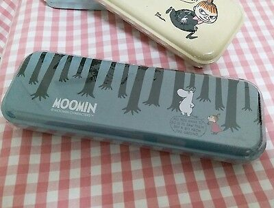 Moomin Characters Moomin Little My Metal Pencilbox Grey