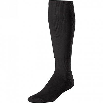 (Large, Black) - Twin City The Ultimate Socks Large Black Black Large. Twin-City