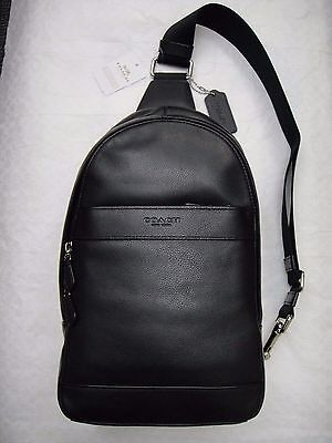 41fd7b61e919 COACH F54770 MEN S Charles Pack In Smooth Leather Backpack -  170.00 ...