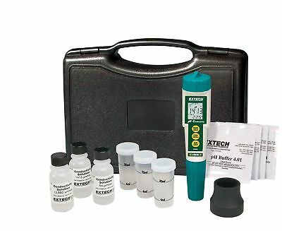 Waterproof Exstik Ph Conductivity Meter Kit Combination Surface Cell Accuracy