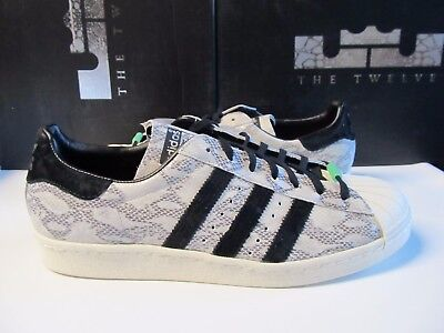 Adidas Superstar 80s CNY $140 CHINESE NEW YEAR OF THE SNAKE Silver Bone Q35134
