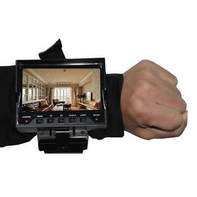 """New Foldable Portable Wrist 4.3"""" LCD CCTV Security  Video Camera Tester"""