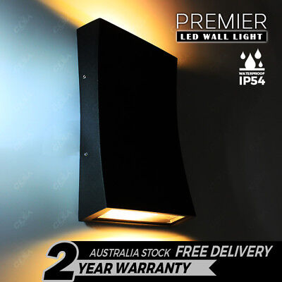 9W LED IP54 Wall Light Modern Indoor Outdoor Sconce Lamp Fixtures Up Down Porch