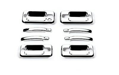 Putco 400024 Putco 400024 Door Handle Cover Fits 03-09 H2 - Chrome Plated; ABS P