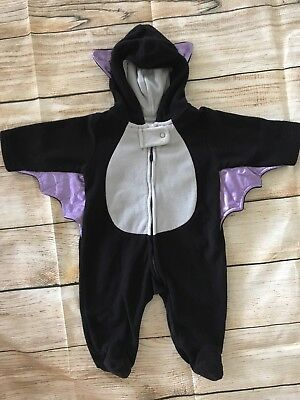 Carters Just One You Vampire Bat Halloween Costume Infant Sz 3 Months EXCELLENT