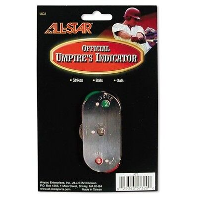 Metal Umpire Indicator. All-Star. Shipping Included