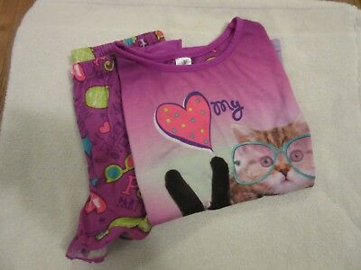 Girl's 2-Piece Pajama Set Size L/G 10/12