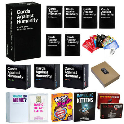Cards Against Humanity Exploding Kittens What Do You Meme? Funny Party Card Game
