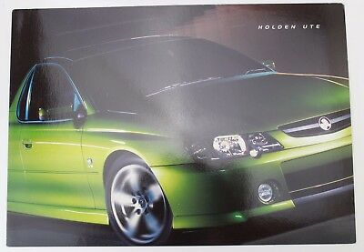 New Holden Commodore VY Ute Sales Brochure Memorabilia Hothouse Green SS