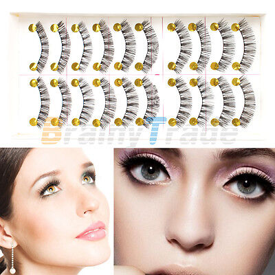 Magnetic Eyelashes Reusable Handmade 3D Dual Magnetic False Eye lashes Extension