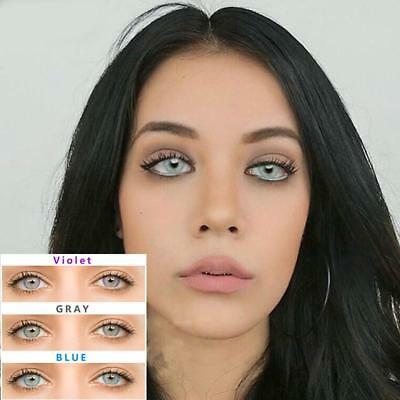 fashion intrend nanolenss Kontaktlinse Contact Colored Circle Contact Lenses