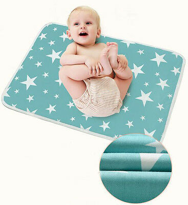 Baby Urine Pad Waterproof Infant Kids Urine Bed Mat Cotton Changing Pad