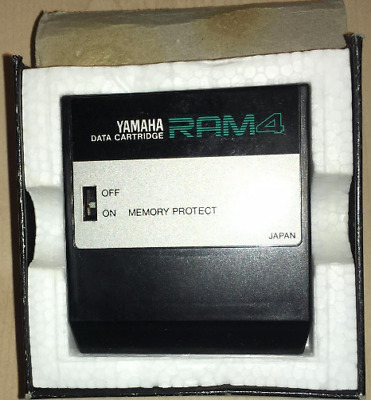 Yamaha RAM4 Data Cartridge Memory Cartridge