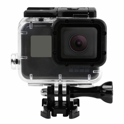 NEW Waterproof Housing Protective Case With Side Power Bank For Gopro Hero 5