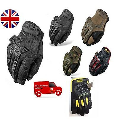 New Fox KTM Mechanix Tactical M-PACT Gloves Black Brown Combat Military Airsoft
