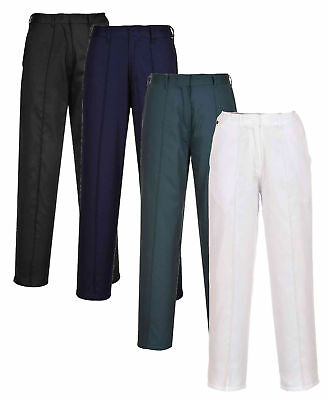 Portwest LW97 Ladies Elasticated Work Trousers Polycotton Elasticated Women Pant