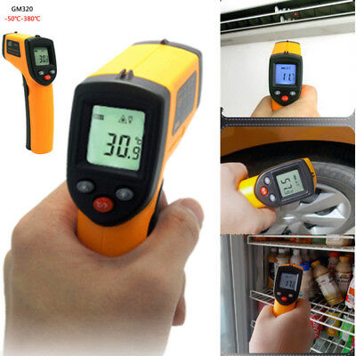 GM320 Non-Contact LCD IR Laser Infrared Digital Temperature Thermometer Gun