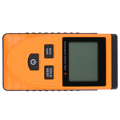 Electromagnetic EMF Magnetic Electric Field Micro V/m Tester Meter Detector
