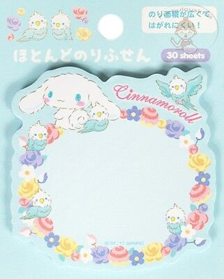 Sanrio Cinnamoroll Sticky Die-Cut Notepad/post-It 30 Sheets/sanrio Cute Post-It