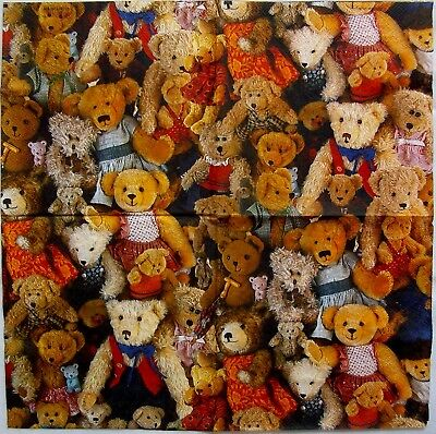 Teddy Bears - 5 Servietten - Ambiente