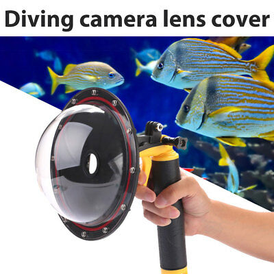 Dome Port Underwater Diving Camera Lens Cover Shell For Gopro Hero 3 4 Camera