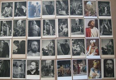 OBERAMMERGAU Passion Play Job Lot of 65x Postcards, & fold out photo book