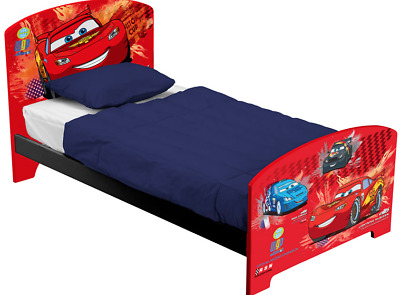 fun house 711761 kinderbett bett pixars cars 2 matratzenma ca 190 x 90 cm eur 1 00. Black Bedroom Furniture Sets. Home Design Ideas