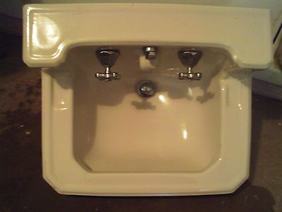 vintage porcelain bathroom sink