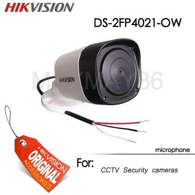 Hikvision Waterproof Microphone for CCTV security Cameras Outdoor DS-2FP4021-OW