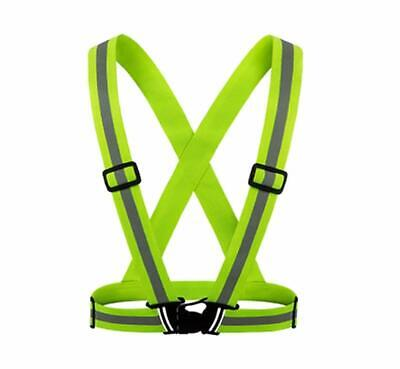 Wowow Cross Belt Adjustable Reflective Belt Ideal RUNNING,CYCLING,HIKE