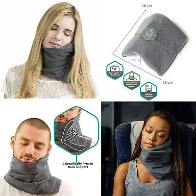 Pillow Scientifically Proven Super Soft Neck Support Travel Ergonomic Flight Nap
