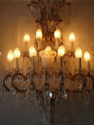 Liquidation Clearance!!! Pr Louis Xvi Empire Style Crystal Bronze Wall Sconces