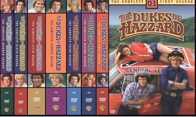 Dukes of Hazzard Complete Seasons 1,2,3,4,5,6,7 BRAND NEW, FACTORY SEALED!!!