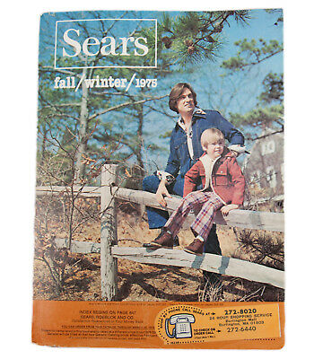Vtg Sears, Roebuck and Co. 1975 Fall Winter 1491 pages