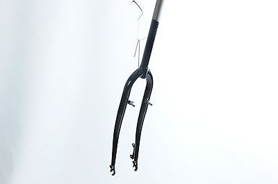 "700c HYBRID FORK WITH DISC MOUNT 1 1/8""STEERER 260mm AHEAD THREADLESS CAN THREAD"