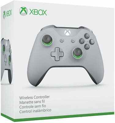Xbox Wireless Controller - Grey/Green New