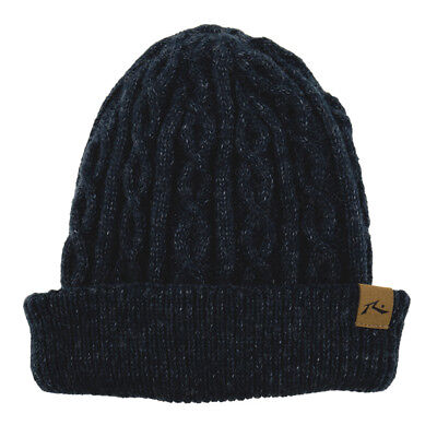 Rusty Funicular Beanie in Blue