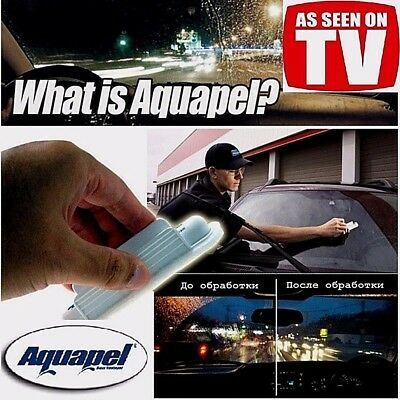 Water Repellant AQUAPEL Car Wipers - The Original !  As Seen On TV Free Shipping